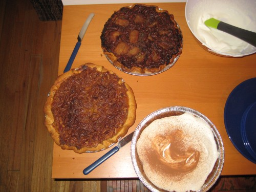Pies...3 different ways